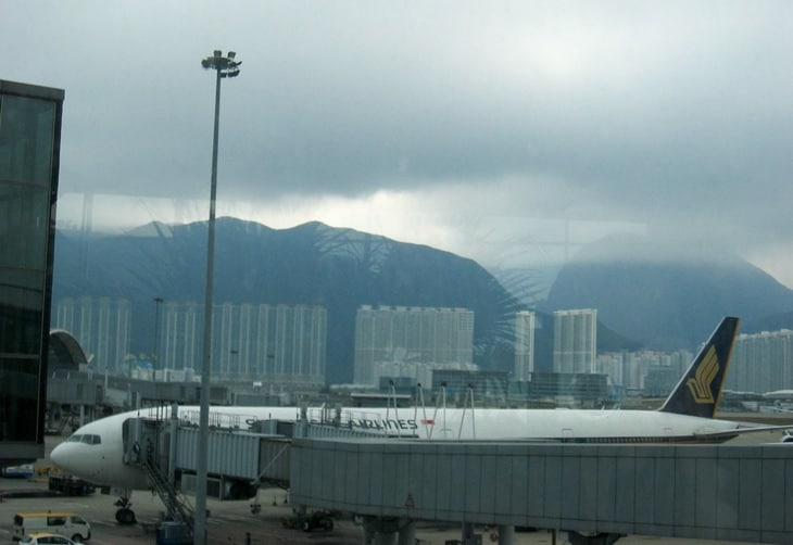 Hong Kong flygplats