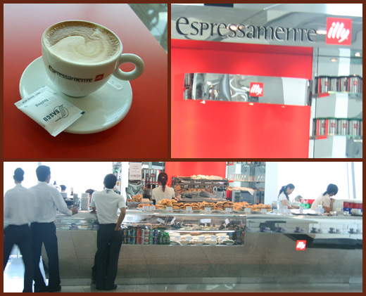 Illy - Ho Chi Minh Airport, Vietnam