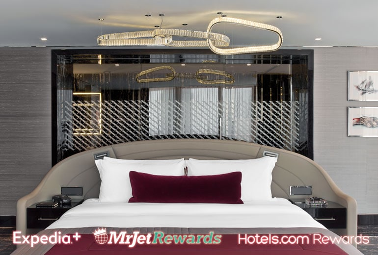 En natt i Bentley suite på nya St. Regis i Istanbul. Något att bränna bonuspoäng på.