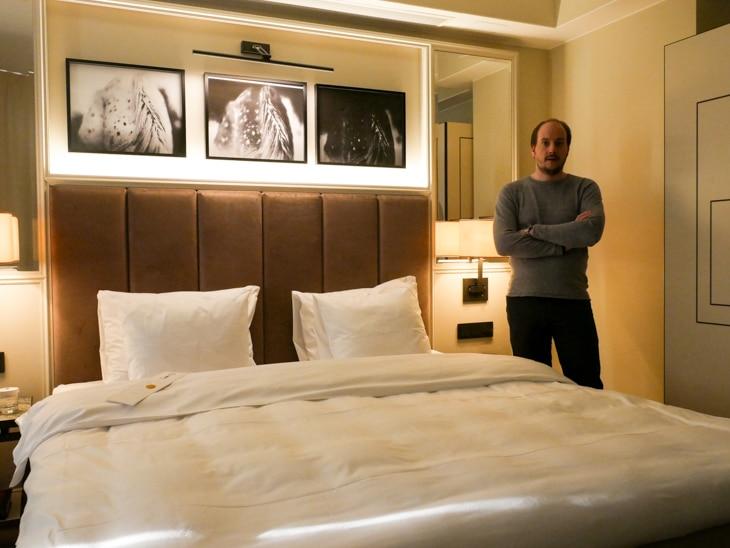 Rummet på Bank imponerade - lyxig känsla!